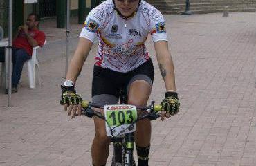 Laura Abril, integrante del ciclomontañismo.