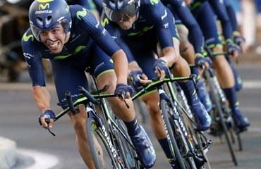 Movistar, primer lugar en la clasificación de la UCI.