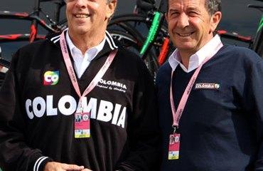El Director de Coldeportes, Andrés Botero, ha sido uno de los mas grandes apoyos del Team Colombia desde su formación