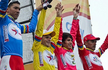 El podio de la Vuelta al Táchira 2015 quedó casi que definido tras la novena etapa
