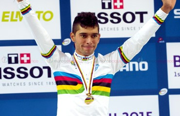 El Campeón Mundial de Omnium regresó a Colombia tras su paso por Bélgica donde fue contratado por el Ettix-Quikstep para las temporadas 2016 y 2017