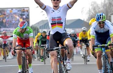 Andre Greipel se impuso en la segunda etapa de la París-Niza (Prensa Paris Nice)