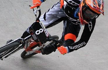 Andrea Escobar es una de las mas grandes promesas del BMX colombiano en la actualidad