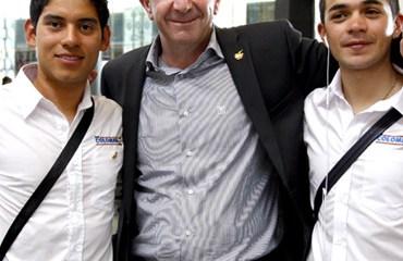 Claudio Corti satisfecho por la invitación del Team Colombia, a la Vuelta a España