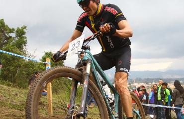 Leonardo Páez, medalla de Plata en los Panamericanos de MTB en Cota-Cundinamarca