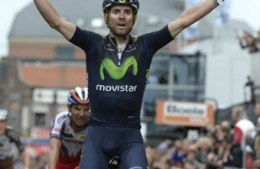 Alejandro Valverde se impuso en la Lieja-Bastoña-Lieja este domingo (Foto Movistar)