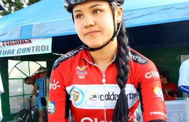Camila Valbuena, su gran reto los mundiales de pista y ruta