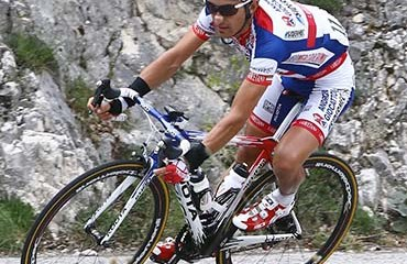 Franco-Pellizotti, uno de los animadores del Giro de Italia