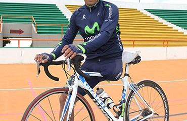 Álvaro Galvis con Santander en Nacional de Paracycling de Bogotá y Girardot