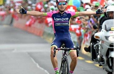 Kristijan Durasek ganador de etapa de Tour de Suiza