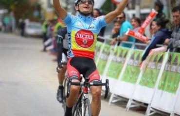 Oscar Pachón, líder Vuelta a Cundinamarca