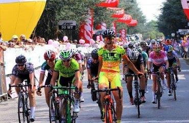 Annalisa Cucinotta ganadora de la cuarta etapa del Giro Rosa