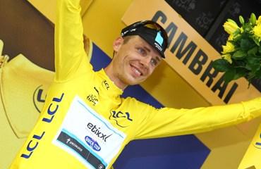 El alemán Tony Martin se consagró rey del pavé en Cambrai y es nuevo líder del Tour de Francia 2015