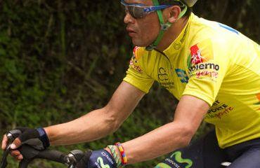Wilson Cepeda se mantiene líder de la Vuelta Santander
