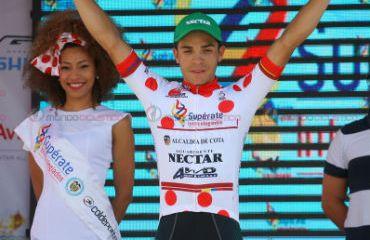 'Álvaro Duarte ganó la etapa 11 y es el líder de la montaña