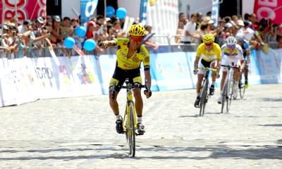 Edwin Sánchez ganó la cuarta etapa de la Vuelta a Colombia