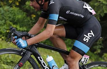 Sebastián Henao, uno de los 'escarabajos' en el Tour de L'Avenir 2015