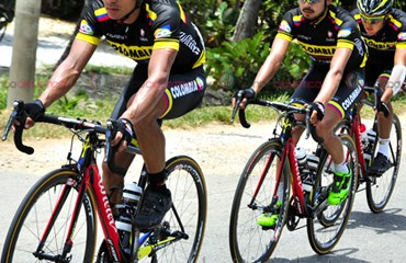 Team Colombia está a una semana de su debut en la Vuelta a España 2015