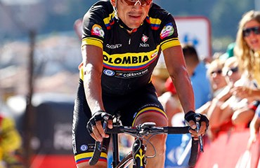 Alex Cano fue el mejor de la escuadra nacional en la definitiva etapa 20 de la ronda ibérica 2015