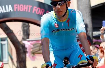 Fabio Aru espera recuperar la camiseta de líder de la Vuelta a España