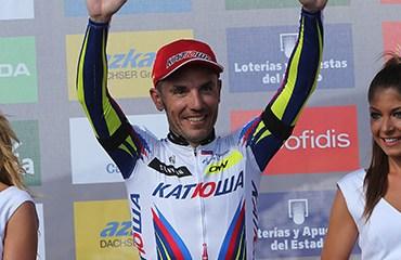 Rodríguez está a un segundo del liderato de la Vuelta a España