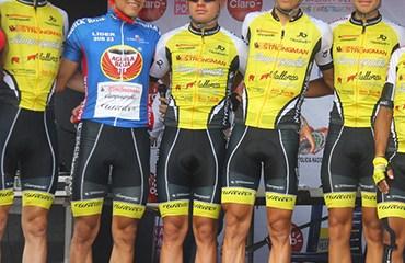El Strongman-Campagnolo fue uno de los equipos revelación de la temporada 2015 en Colombia