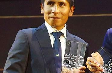 Nairo Quintana cerró el podio del World Tour 2015