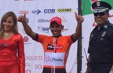 Fernando Ureña ganador de la segunda etapa de la Vuelta a Chiriquí