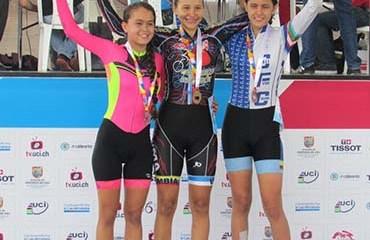 Yuli Ramírez se mostró como una de las grandes promesas de la pista nacional