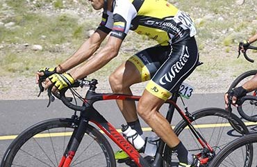 El Strongman-Campagnolo puso a Jonathan Millán y Steven Calderón en el Top 15 de la general final del Tour de San Luis