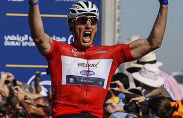 Kittel hizo moñona con etapa y campeonato en el Tour de Dubai 2016