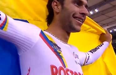 Gaviria es con solo 21 años una de las grandes estrellas del ciclismo mundial tanto en Pista como en Ruta