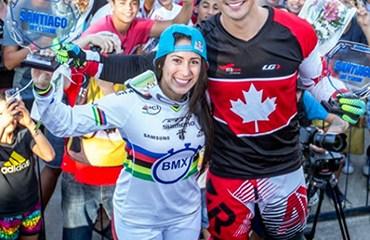 Mariana inició con pie derecho un 2016 donde apunta a los títulos en Mundial y Olímpicos (Foto: UCI BMX)