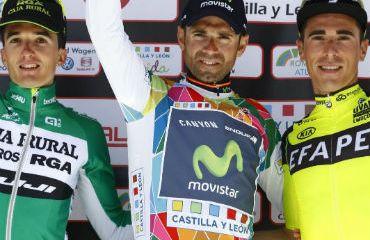Alejandro Valverde, Campeón Vuelta a Castilla y León 2016 (FOTO-Movistar)