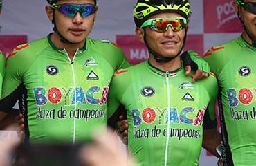 Los corredores de Boyacá Raza de Campeones se desplazan este lunes a España