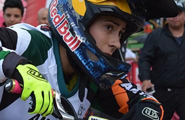 Mariana Pajón se ubicó segunda en la CRI que abrió la válida británica de Copa Mundo de BMX Supercross