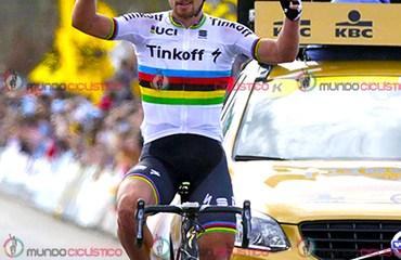 Peter Sagan favorito a ganar la París-Roubaix este domingo