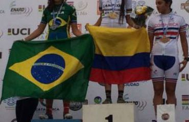 Salomé Jiménez, Oro en Panamericano de MTB en Argentina