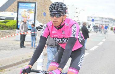 Sebastian Molano en Tour de Bretagne en Francia