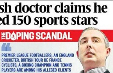 The Sunday Times destapó este domingo un escandalo que amenaza con llevarse por delante varios de los triunfos de los últimos años del deporte británico
