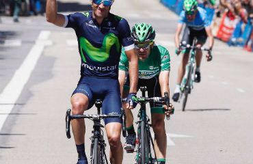 Dani Moreno ganador de última etapa en Asturias (FOTO Movistar)