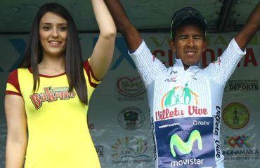 Oscar Soliz lidera la clasificación de la combatividad de la Vuelta Cundinamarca