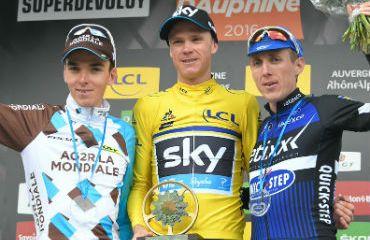 Chris Froome, campeón de la nueva Dauphiné