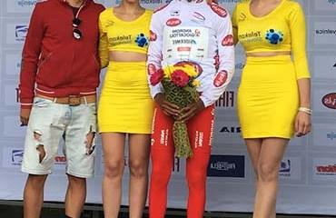 El escarabajo cundinamarqués se metió al podio del Tour de Eslovenia