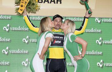 Fabián Cancellara, primer líder Vuelta a Suiza