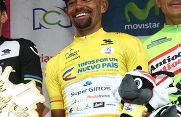 Mauricio Ortega ocupó el primer cajón del podio de la Vuelta a Colombia 2016
