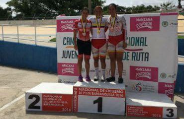 Nacional Juvenil de Pista, Bogotá el campeón