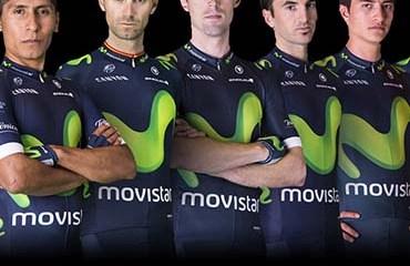 Nairo Quintana encabeza la nómina de su equipo Movistar Team para el Tour de Francia 2016