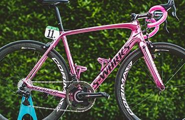 Specialized conmemoró la victoria en el Giro de Italia 2016 con un espectacular modelo de la Tarmac S-Works