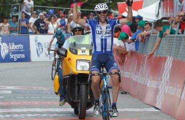 Gustavo Veloso ganador de cuarta etapa de Vuelta a Portugal